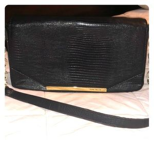 Classy Black Anne Klein Handbag